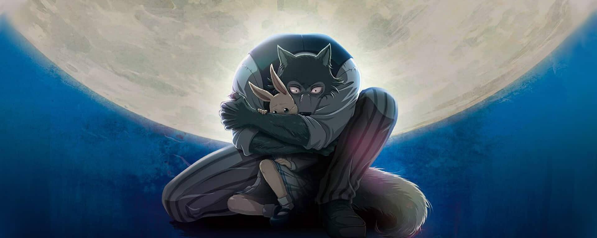 Legosh o lobo atacando a coelha Haru