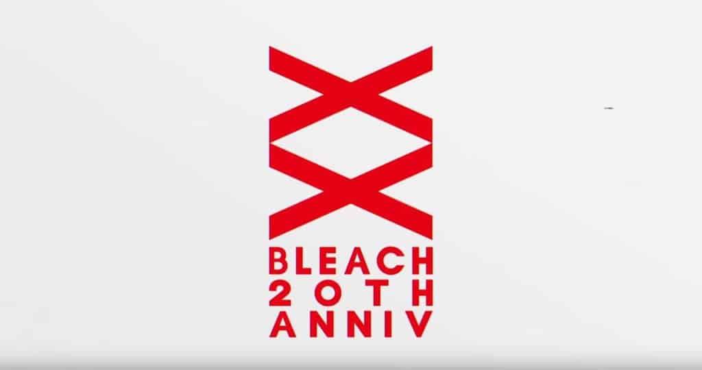 Bleach 20th Anniv logo