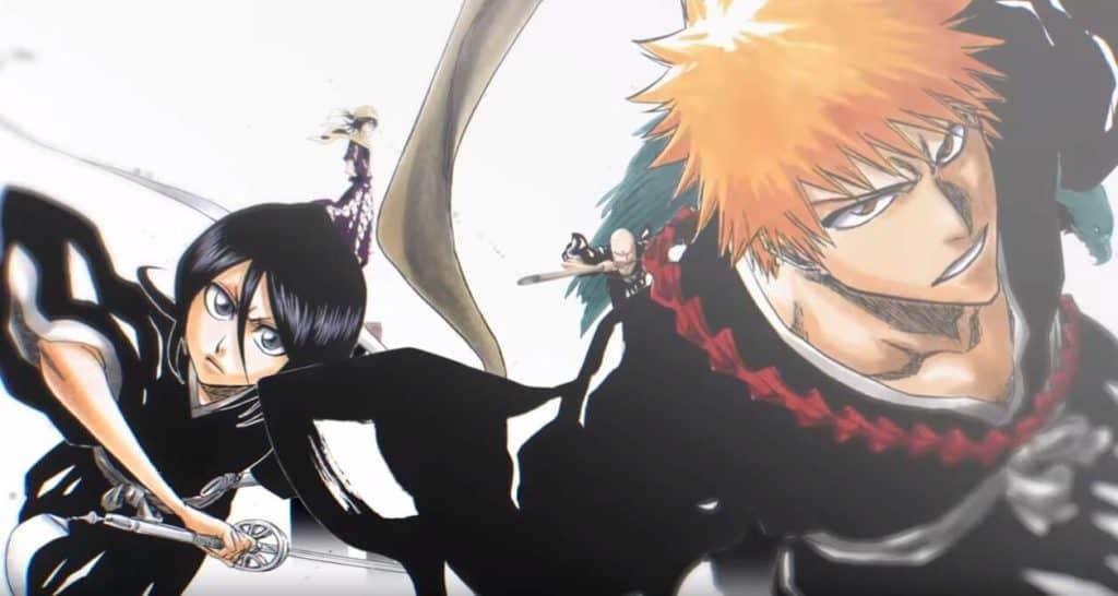 Bleach Ichigo e Rukia no manga