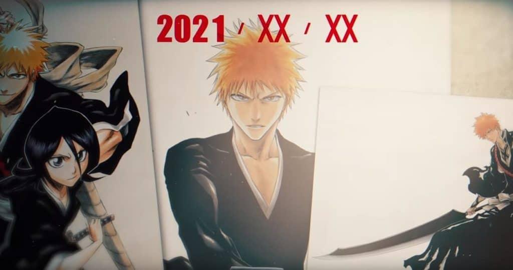 Bleach para 2021 print do vídeo