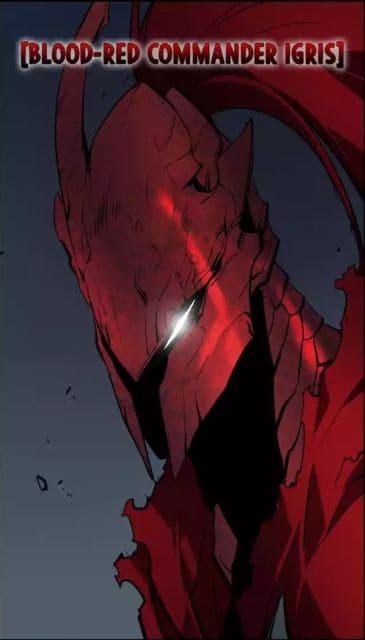 Cavaleiro Sanguinário ingris de Solo Leveling