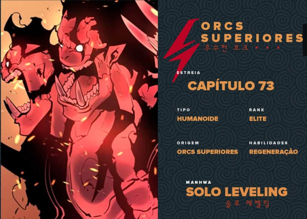 Sombras Orcs Superiores Solo Leveling