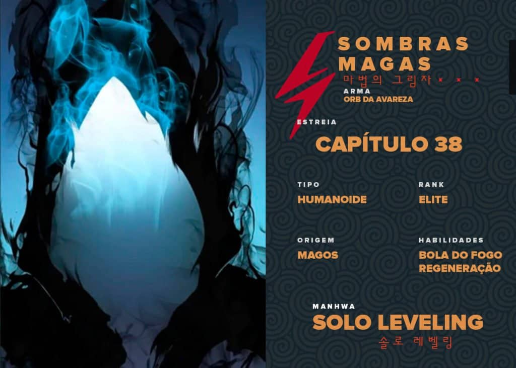 Sombras Magas Solo Leveling