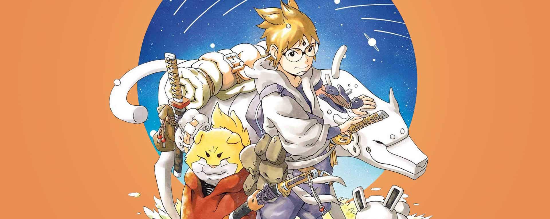 capa de samurai 8 mangá do kishimoto autor de naruto