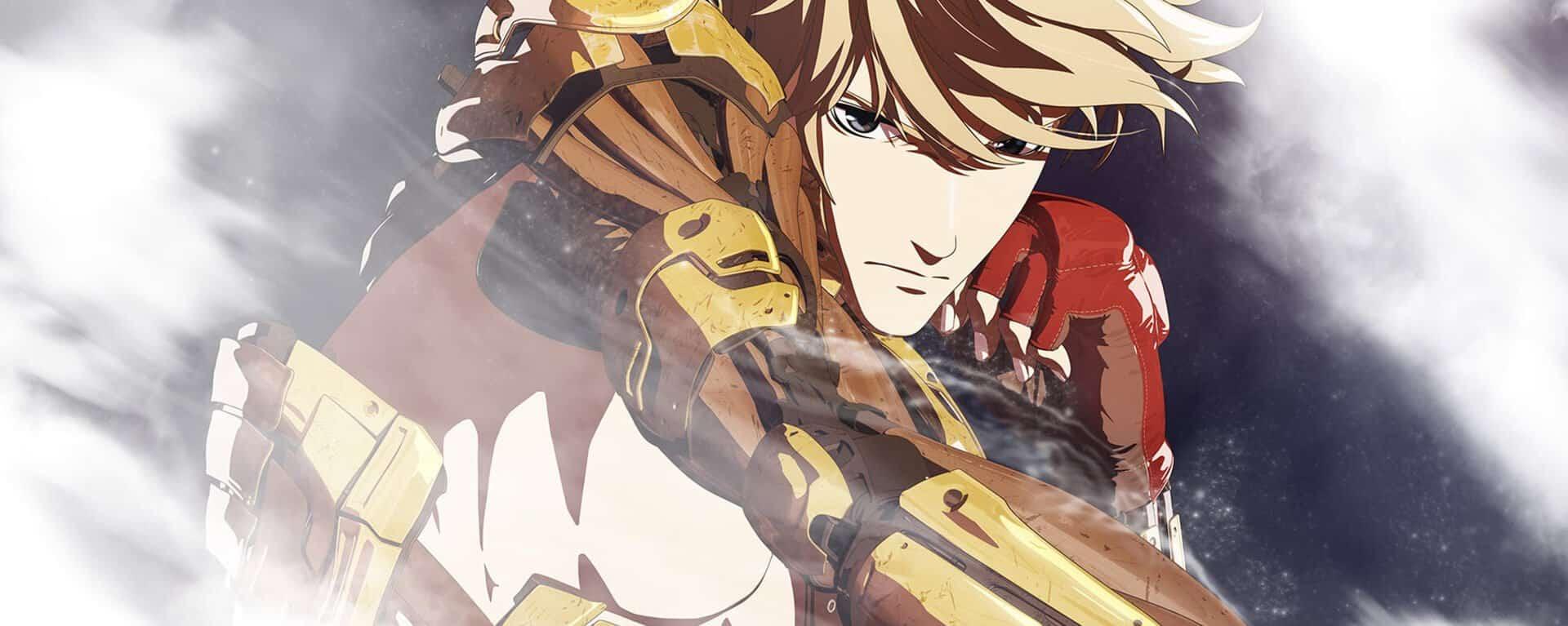 capa do anime levis de boxe onde o protagonista desvia de um jab