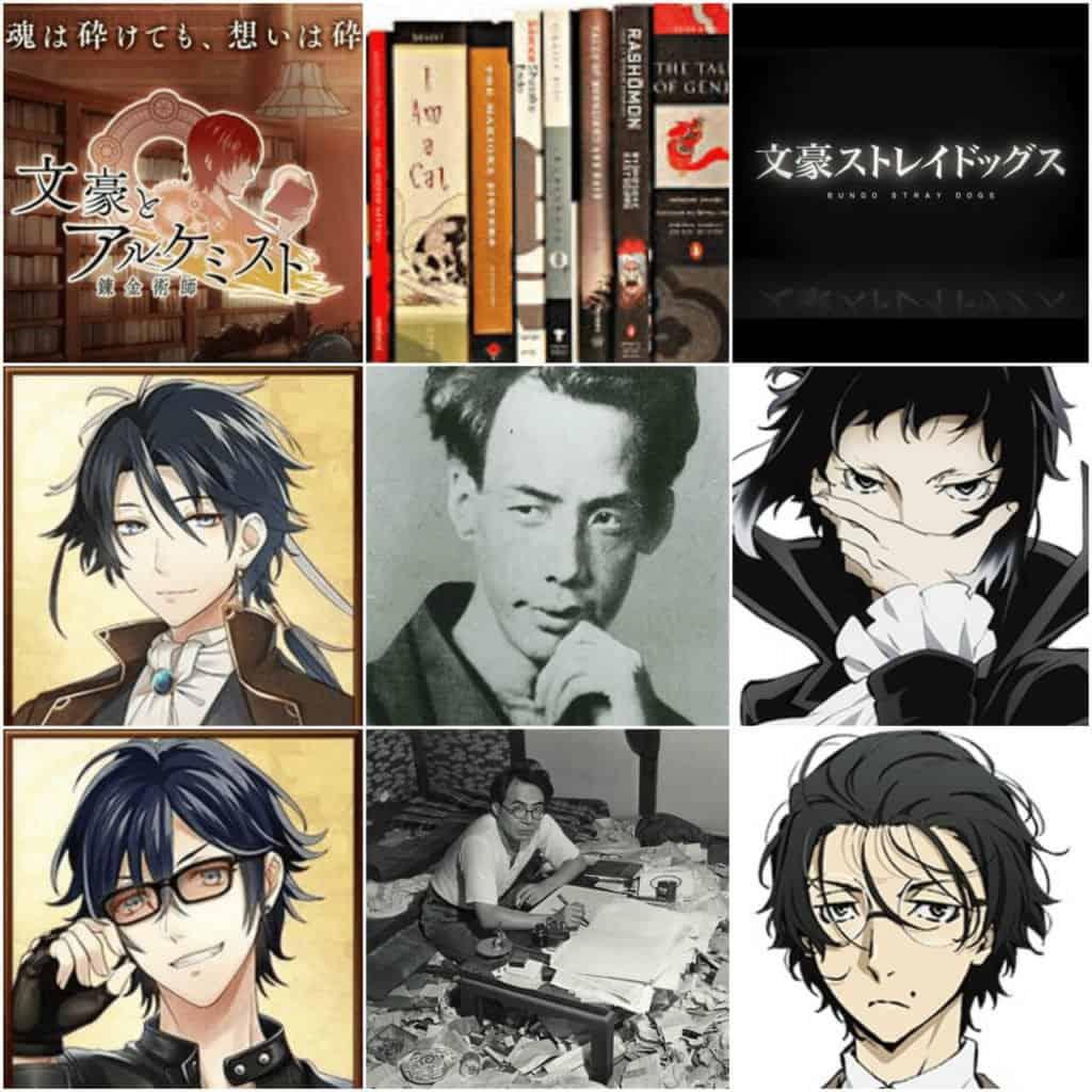 autores japoneses e os personagens adaptados nos animes 2