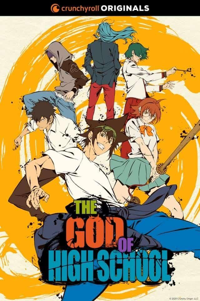 Banner promocional de The God of High School, anime de verão 2020