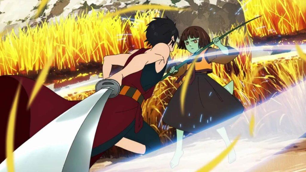 Anak contra Hatsu na competição dos regulares