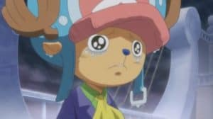 Chopper Chorando One Piece