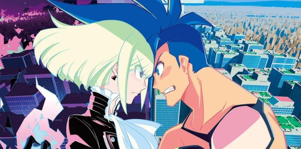 Galo e Lio do filme anime PROMARE