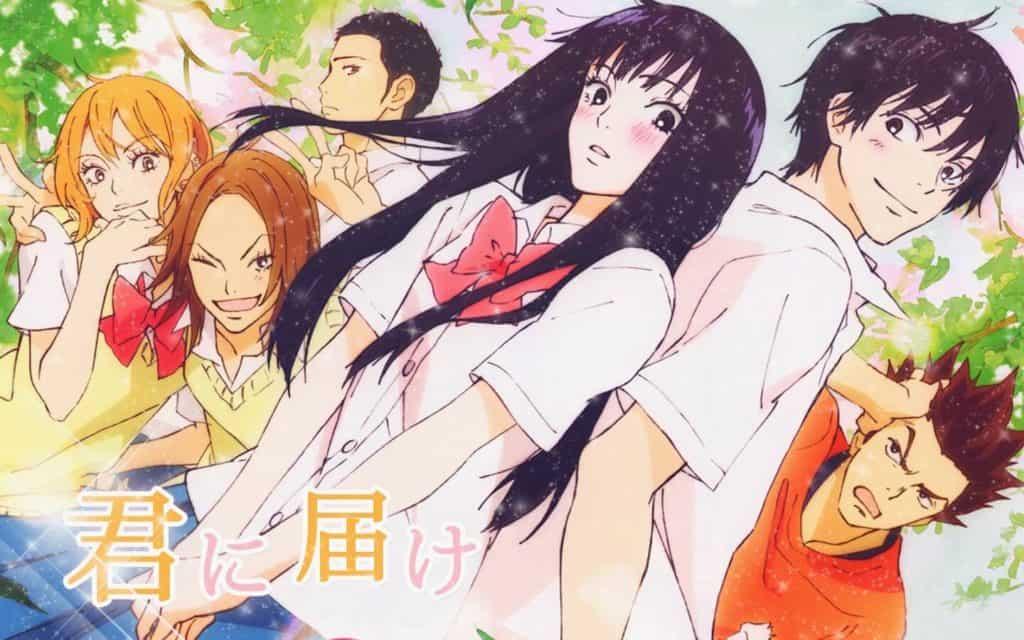 Kimi ni Todoke visual com elenco reunido