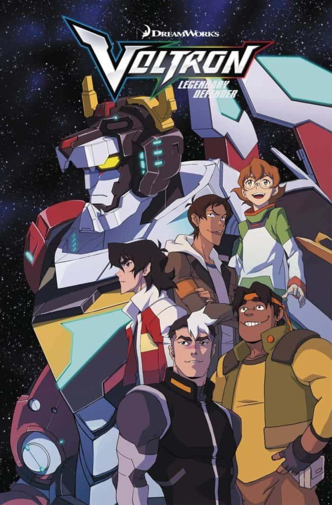 Poster da animação Voltron