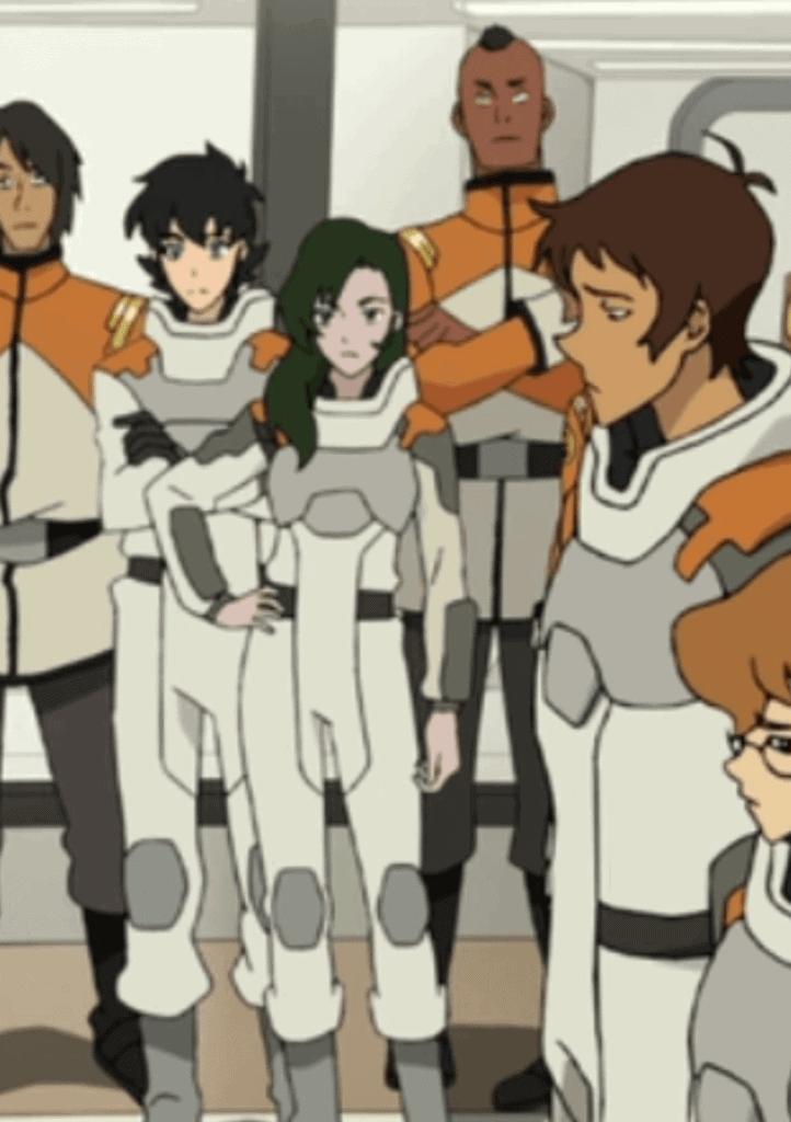 Imagem com dois personagens da serie Robotech
