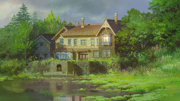 casa do pantano no filme As Memórias de Marnie