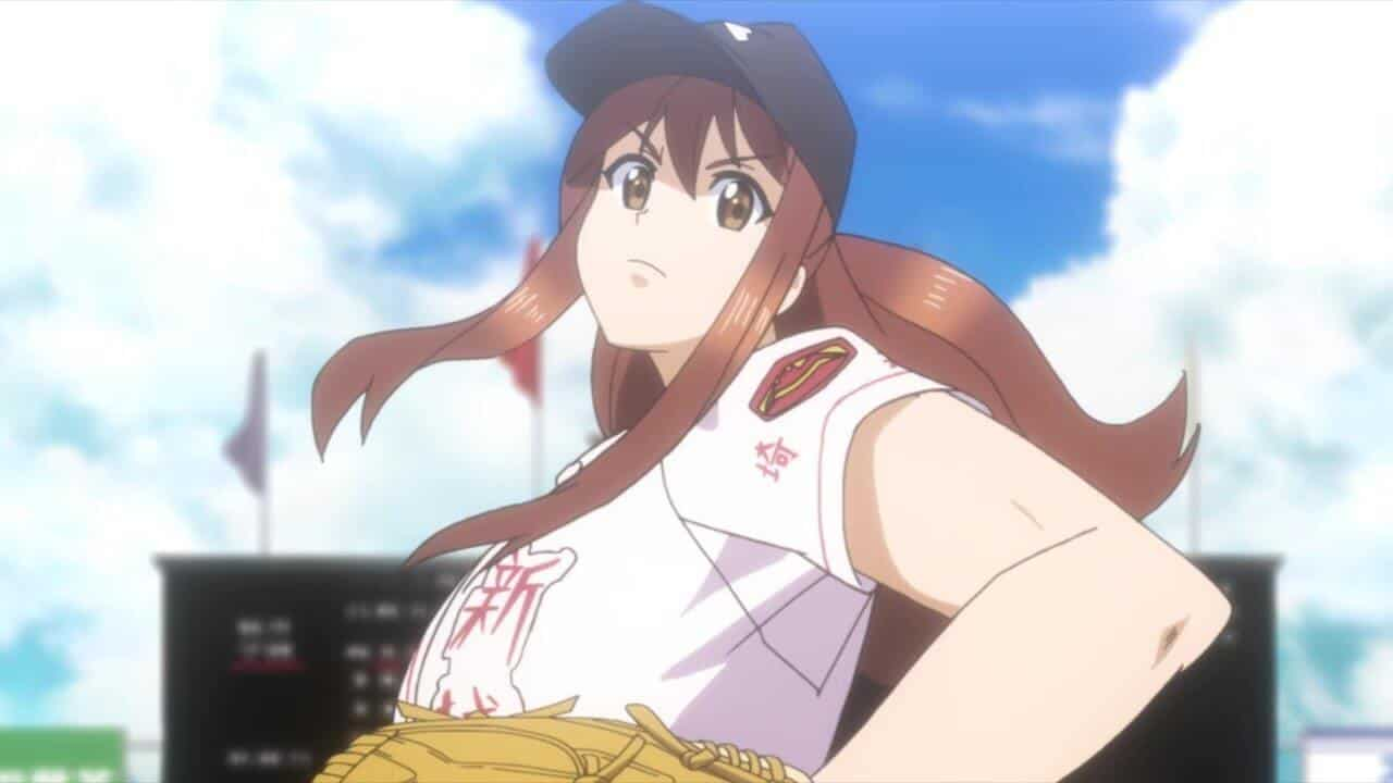 capa tamayomi protagonista arremessando bola