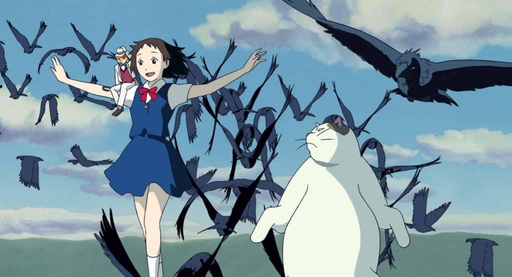 triunfo de haru barao muta em o reino dos gatos (Neko no Ongaesh)i