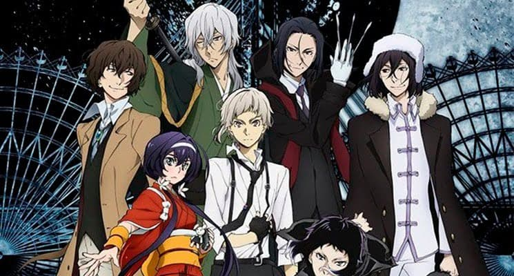 Bungo Stray Dogs personagens