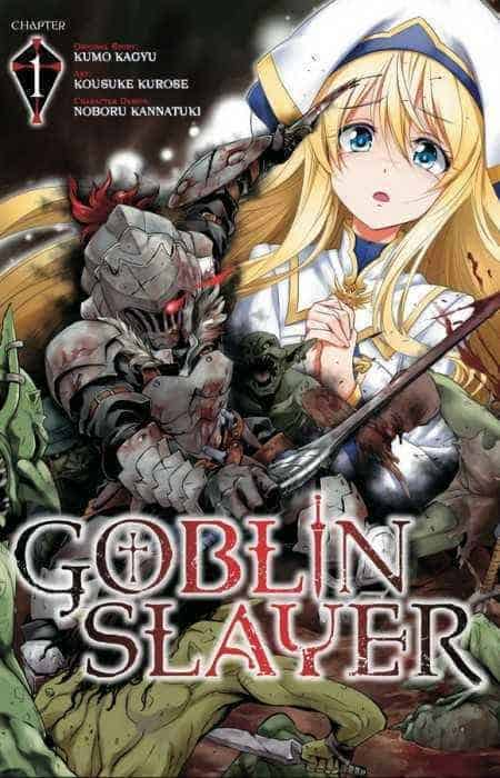 Capa do Primeiro Capitulo de Goblin Slayer