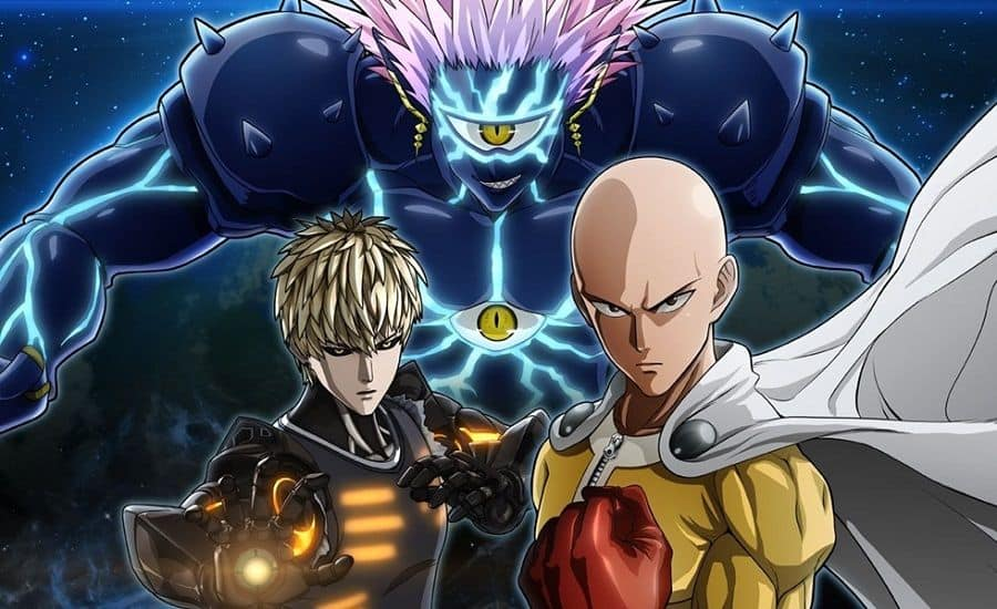 animes dublados One Punch Man