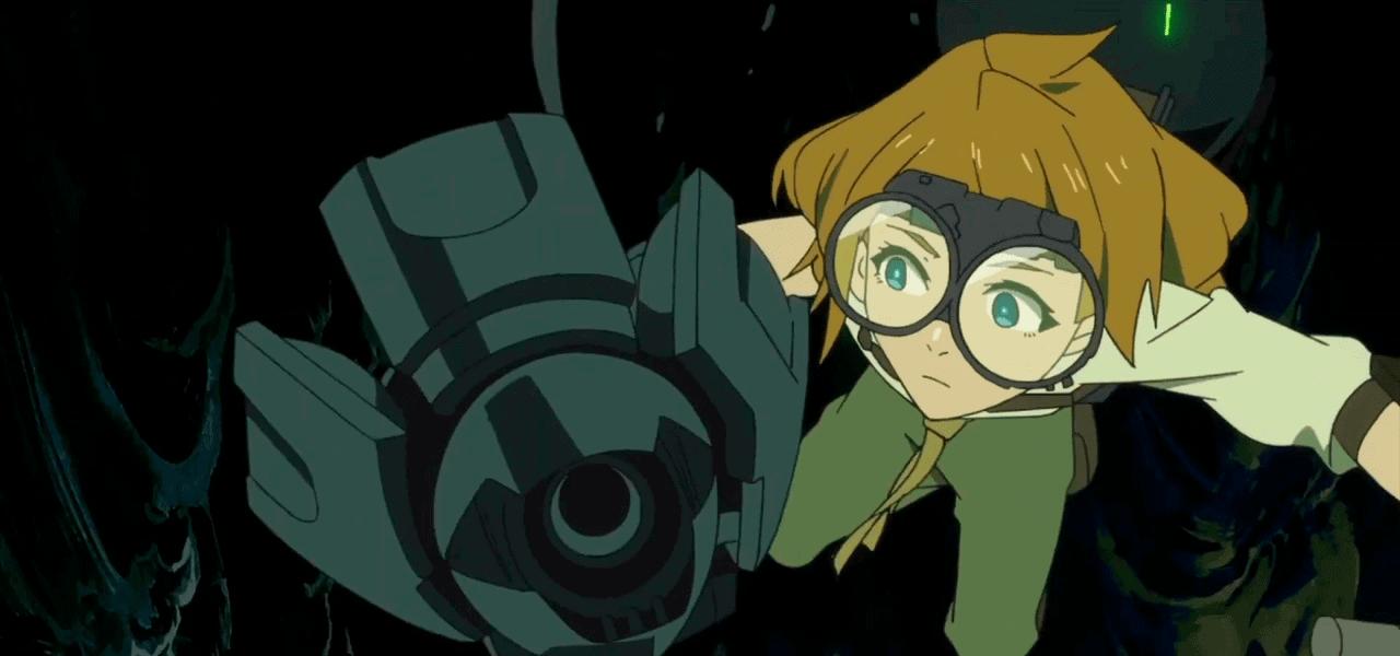 imagem da personagem do anime