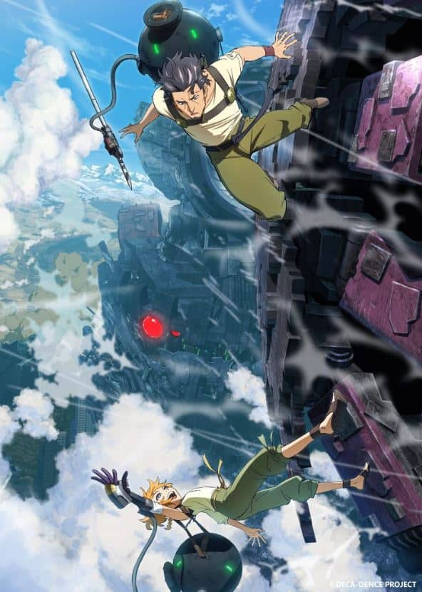 personagens do anime deca-dence