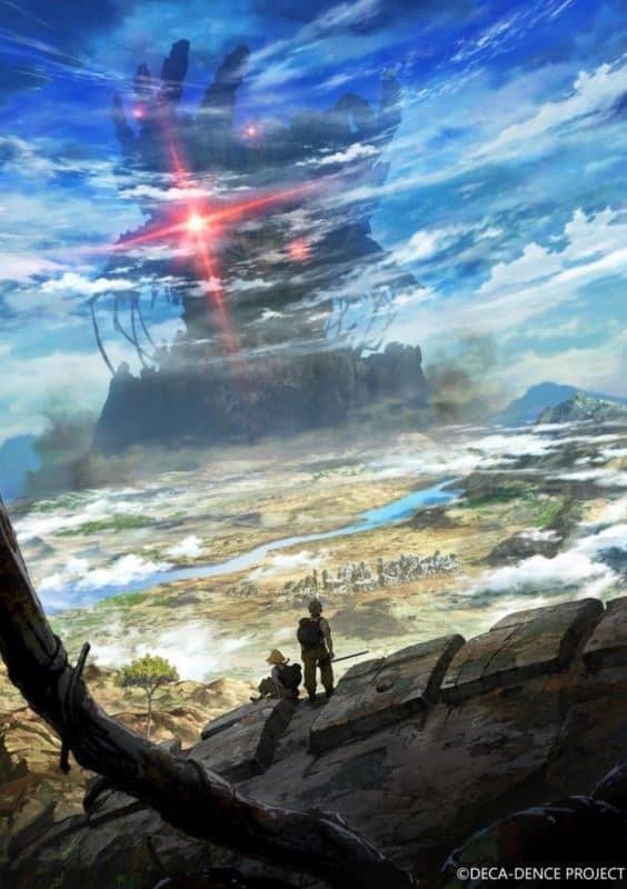 anime deca-dence imagem de paisagem vista de longe, em anime que sairá na temporada de animes julho 2020