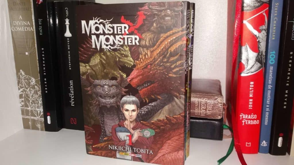 mangá monster x monster