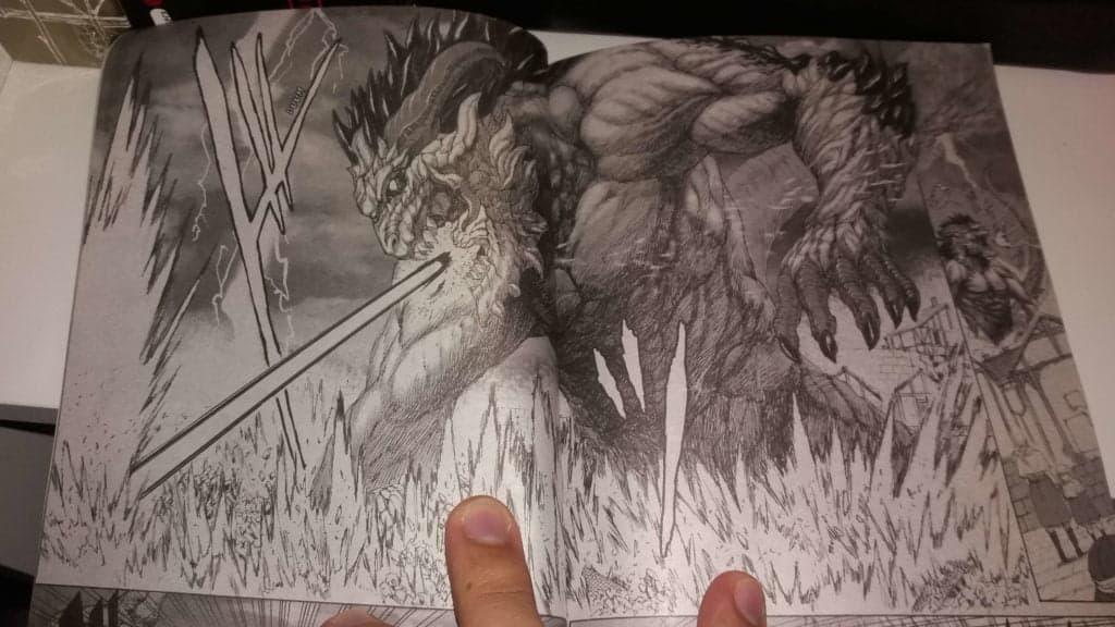 página do mangá monster x monster