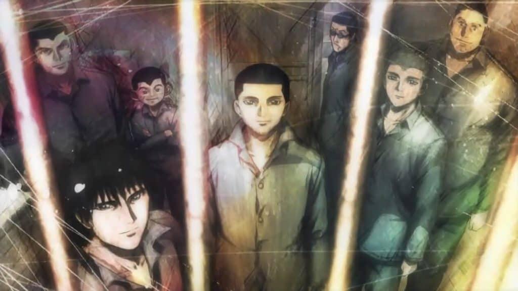 Rainbow Nisha Rokubou no Shichinin os 7 protagonistas