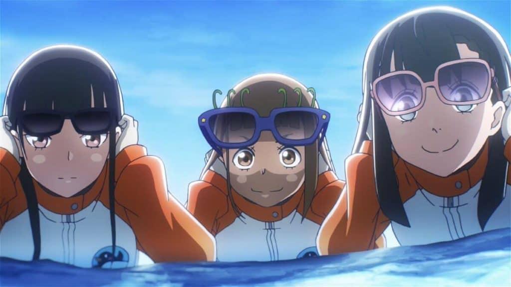 Sora yori mo Tooi Basho oculos escuros brincando