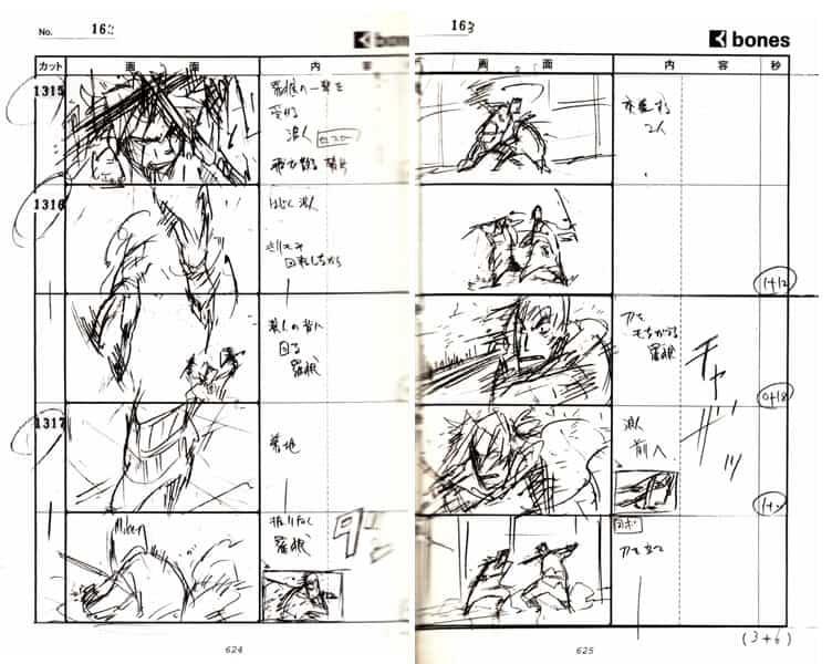 Storyboard de anime