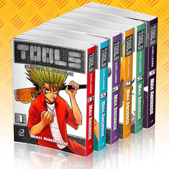 Todos os seis volumes de tools challenge