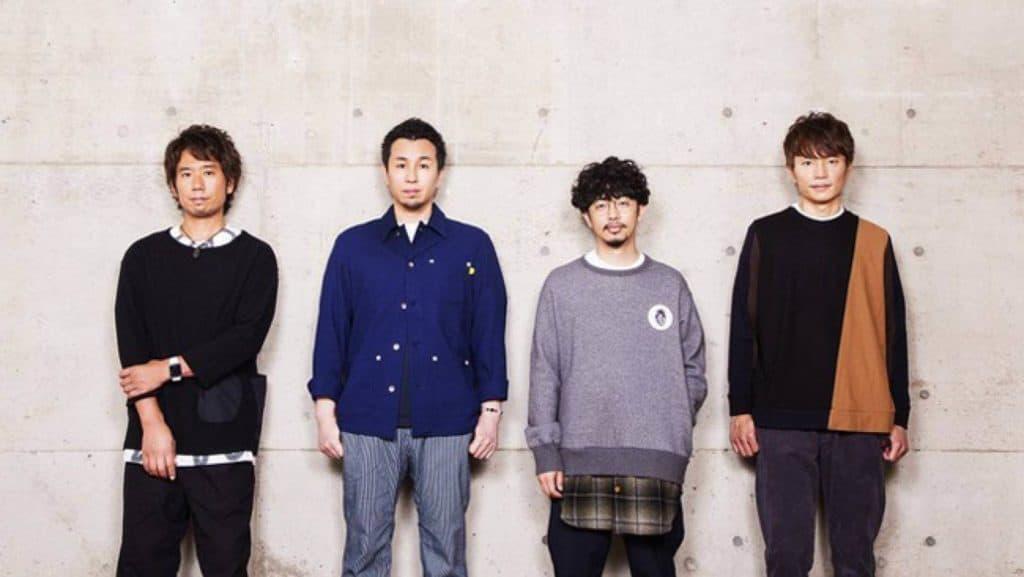 Foto dos quatro integrantes da Banda Asian Kung-Fu Generation