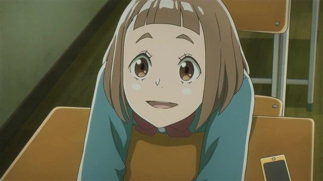 kimari de Sora yori mo Tooi Basho sentada na carteira