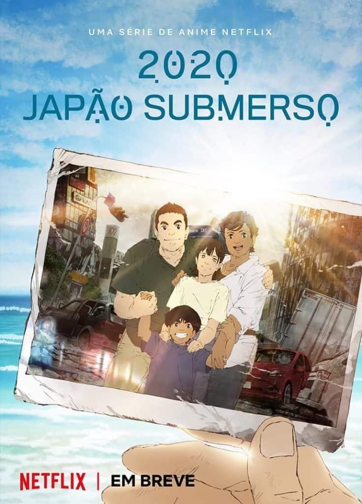 2020 japão submerso anime capa