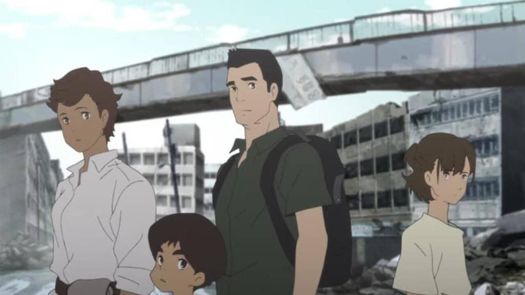 2020 - Japão Submerso personagens