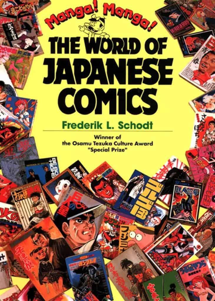 capa do livro the world of japanese comics de frederik