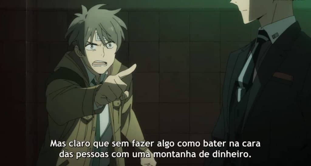 Katou confrontando Daisuke