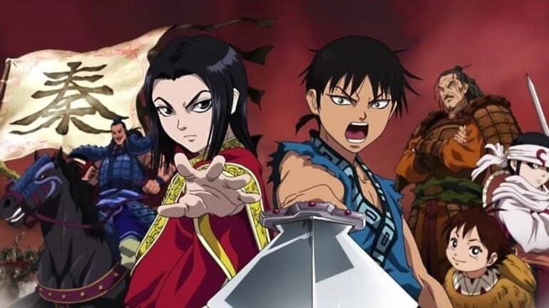 kingdom segundo anime imagem destaque