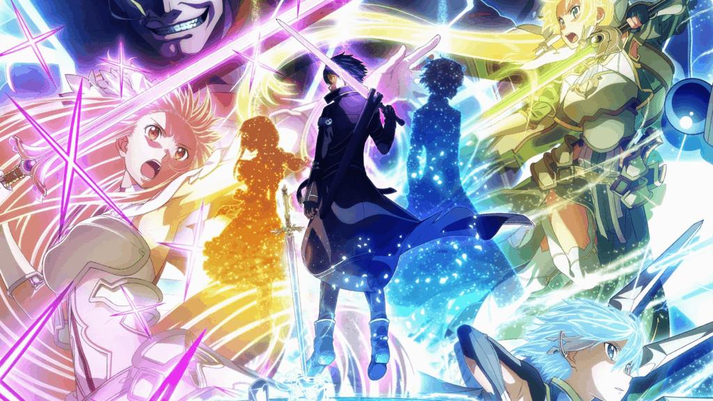 Kirito na capa do arco war of underworld