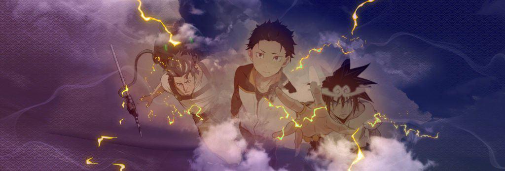 animes trovejantes da temporada de julho 2020 god of highschool, rezero, deca dance