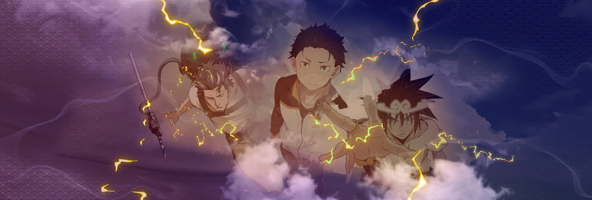 animes trovejantes da temporada de julho 2020 god of highschool, rezero, deca dance