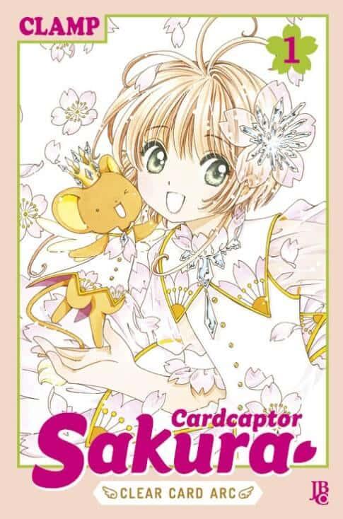 capa do volume 1 da sakura card captors da jbc