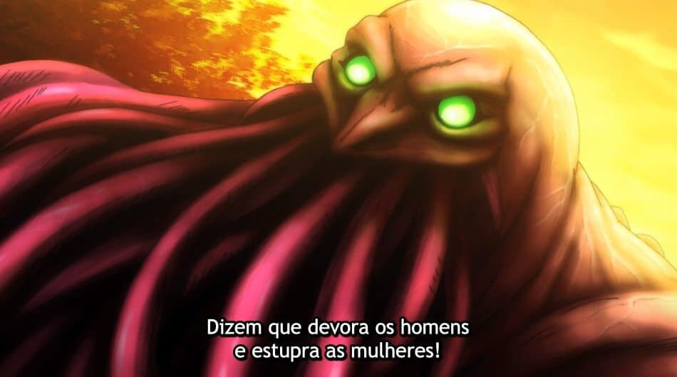 monstro do anime