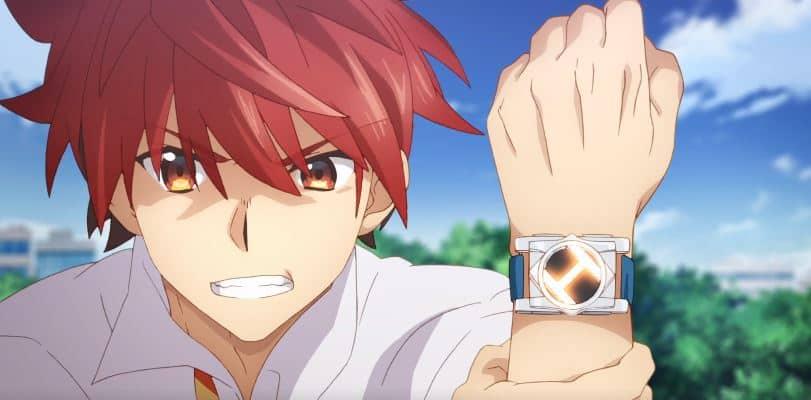 a fonte do poder no anime