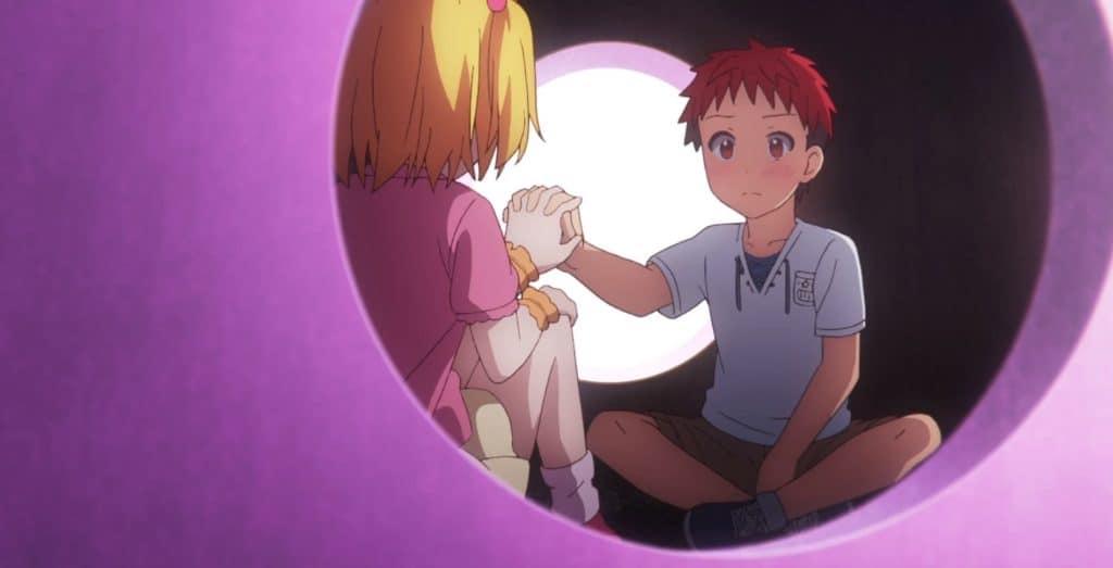 o elemento romântico de Dokyuu Hentai HxEros