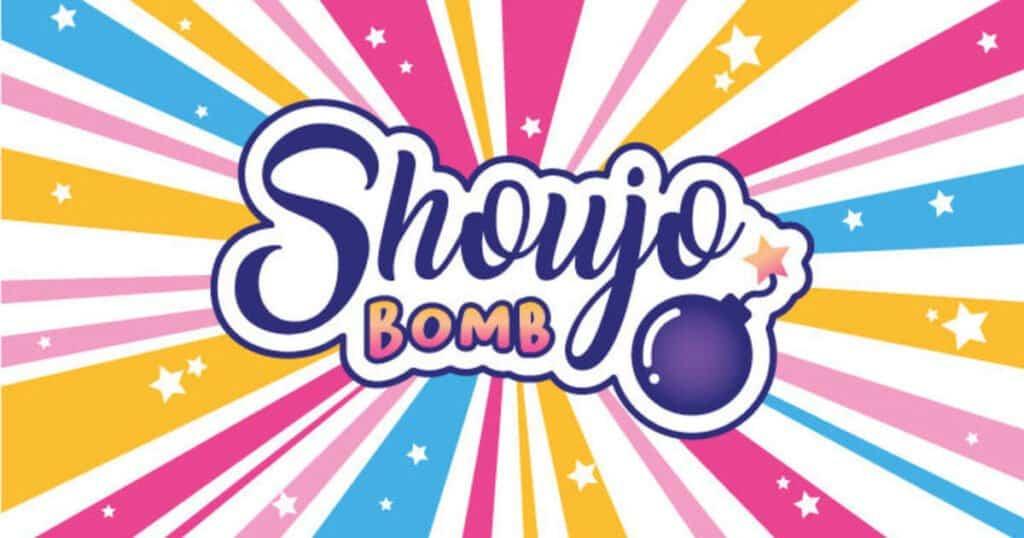 logo do projeto shoujo bomb de camila poszar