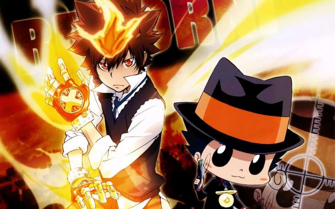 Tsuna de Kateckyo Reborn, animes parecidos com naruto