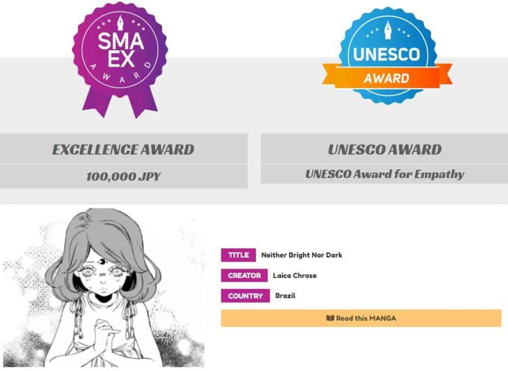 SMA - Vencedora da Categoria Excellence e Unesco