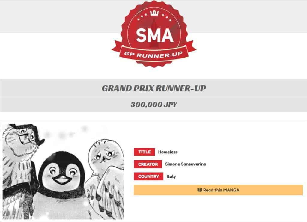 SMA - Vencedor do Grand Prix